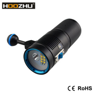 Hoozhu V40d Underwater Light for Video with Max 4500lm and Watrproof 100m pictures & photos