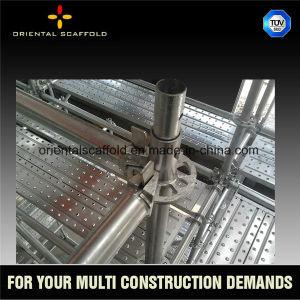 Q235 Steel Galvanized Layher Used Ringlock Scaffold System for Sale pictures & photos