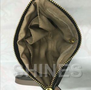 Black Linen Women Handbag pictures & photos