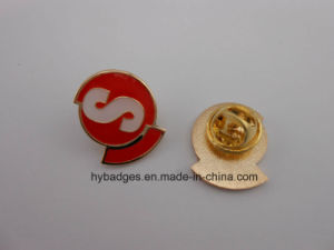 Enamel Gold Plated Badges, Metal Lapel Pins (GZHY-KA-030) pictures & photos