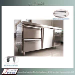 Kitchen Worktable Freezer Stainless Steel Worktable Refigerator Workbench Chiller pictures & photos