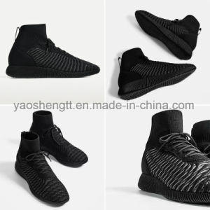 Latest High Top Primeknit Shoes pictures & photos