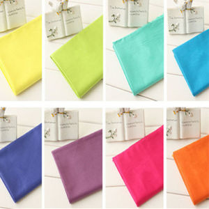 Woven Colorful Solid Cotton Fabric Twill Fabric pictures & photos
