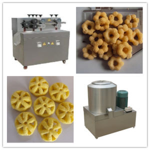 Low Cost Corn Filling Puff Snack Making Machine pictures & photos