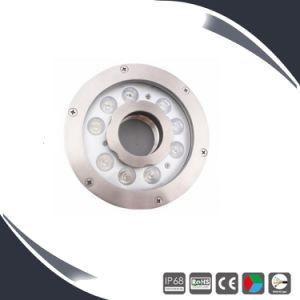 IP68 316 Stainless Steel RGB LED Underwater Pond Lights pictures & photos