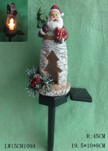 Home Decoration Xmas Statue Candle Holder Furniture pictures & photos