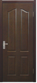 HDF Veneer Door Skin (Sapele) pictures & photos