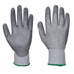 Newest PU Coated Working Safety Cut Resistant Gloves pictures & photos