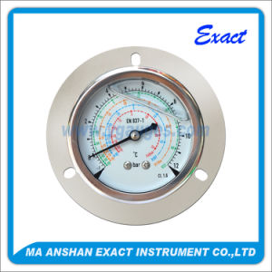 Freon Pressure Gauge-R22, R410A, R417A, R507A, R134A, R404A Pressure Gauge pictures & photos