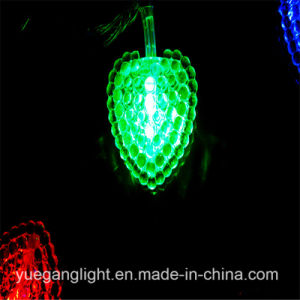 Multicolor Light String LED with Heart Pattern Pendant pictures & photos