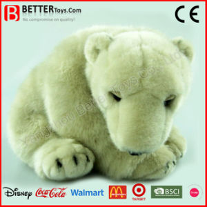 Realistic Stuffed Animal Soft Toy Polar Bear pictures & photos