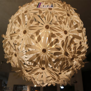 Decorative Plastic Flower Ball Pendant Light pictures & photos