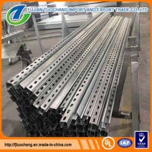 Perforated Support Galvanized Steel Channel pictures & photos