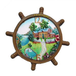 Good Quality 3D Russia Resin Scenery Fridge Magnets pictures & photos