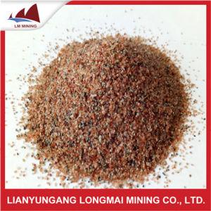20-40mesh Brown Red Garnet Abrasive for Sandblasting