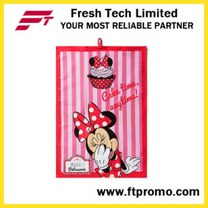 Promotional Tea Towel with Logo Printed pictures & photos