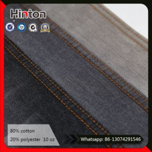 10*8 Twill Dark Blue Denim Fabric for Women Jeans pictures & photos