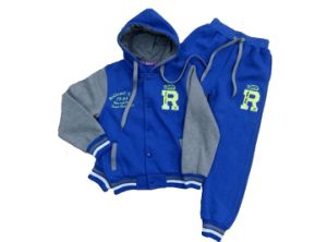 Winter Boy Suit with Hood (SBL003) pictures & photos