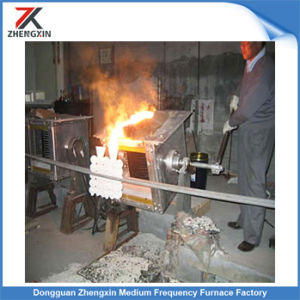 Electric Overturning Medium Frequency Induction Melting Furnace Gw 20-2000kg pictures & photos