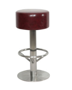 Round Seat Stainless Steel Bar Stool pictures & photos