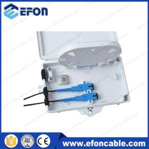 Mini 2 Port Plastic Fiber Optical Dsitribution Set Top Box (FDB-02A) pictures & photos