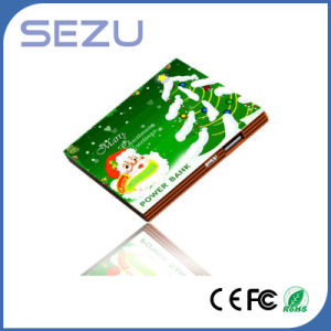 Customized 2600mAh Slim Creative Square Biscuits Power Bank Charger for Promotion pictures & photos
