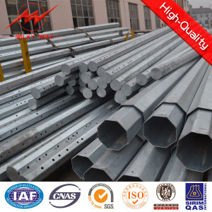 2016 Treated Galvanized Steel Electric Pole for Philippines 35FT pictures & photos
