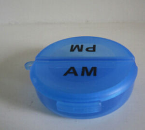 New Popular Round Pill Box pictures & photos