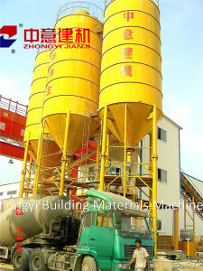 Hzs 90 M3/H Stationary Concrete Batching/Mixing Plant with Sicoma Mixer for Construction pictures & photos