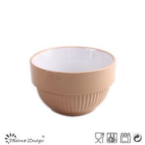 "6"" Color Glazed Stoneware Bowl pictures & photos"