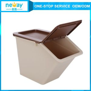 50L Plastic Storage Color Box with Lid pictures & photos