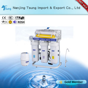 50gpd 6 Stages Water Filter with Pressure Gauge Ty-RO-10 pictures & photos