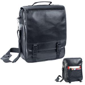 PU Leather Document Messenger Shoulder Briefcase Laptop Bag pictures & photos