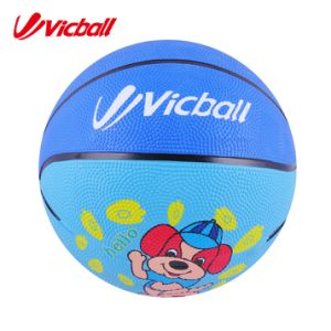 Small Colorful Rubber Basketball for Children pictures & photos