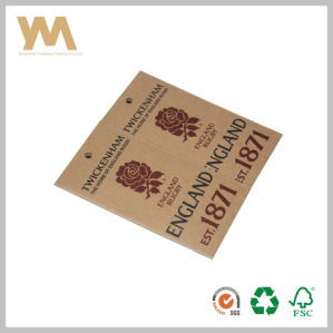 Customized Kraft Paper Tag Garments Hang Tag pictures & photos