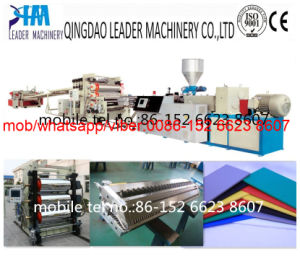 Plastic Foam Extrusion Machine PVC Free Foam Board Extrusion Line pictures & photos