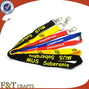 High Quality Custom Christmas Printed Polyester Lanyard pictures & photos