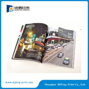A4 Company Brochure Printing with Oil Coated on The Top pictures & photos