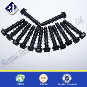 Low Price Grade 8.8 Hex Flange Screw pictures & photos