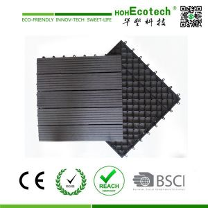 Waterproof WPC Interlocking Exterior Tiles pictures & photos