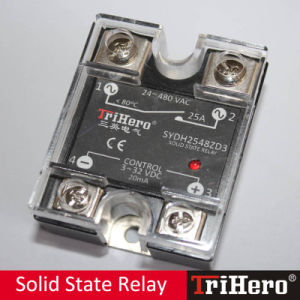 25A DC/AC Single Phase SSR Solid State Relay (SSR-D25) pictures & photos