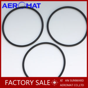 Cold-Resistant Black Color Viton O-Ring with High Temperature Resistant Made in Aeromat pictures & photos