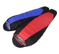 Portable Light Weight Sleeping Bag Outdoor Camping Hiking Warm Duck Down Bivy Sack