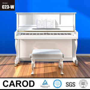 White Mechanical Acoustic Carod Upright Piano pictures & photos