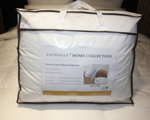 Luxury 800 Filling Power White Goose Down Quilt pictures & photos