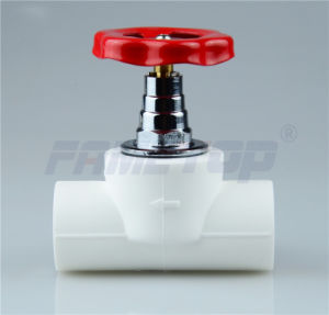 PPR Stop Valve for Hot and Cold Water pictures & photos
