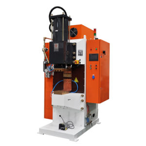 Pneumatic Capacitor Discharge Welder for Nut Bolt pictures & photos