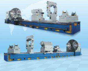 Large Sized Lathe Machine (heavy horizontal lathe machine) pictures & photos