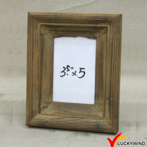 Rectangle Vintage Brown Table Stand Photo Frame Wooden pictures & photos