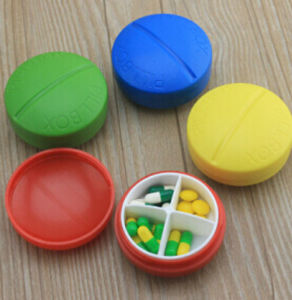 Best Sale Plastic Pill Box with Various Color, for Promotion pictures & photos